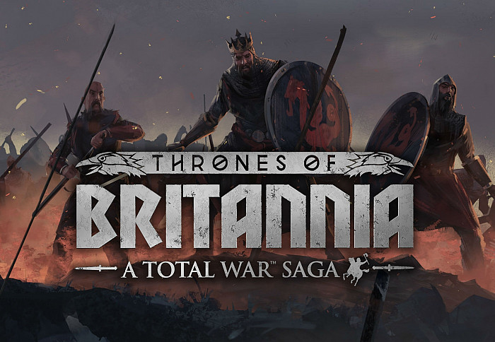 Обложка игры A Total War Saga: Thrones of Britannia