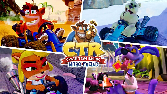 Обзор игры CTR: Crash Team Racing Nitro Fueled