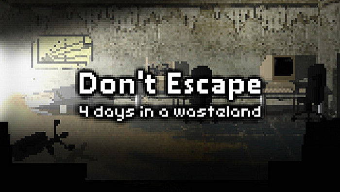 Обложка игры Don't Escape: 4 Days in a Wasteland