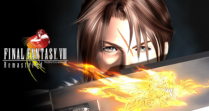 Обложка игры Final Fantasy 8 Remastered