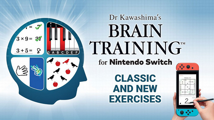 Обзор игры Dr Kawashima's Brain Training for Nintendo Switch