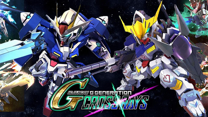 Обложка игры SD Gundam G Generation Cross Rays