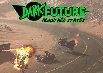 Обложка игры Dark Future: Blood Red States
