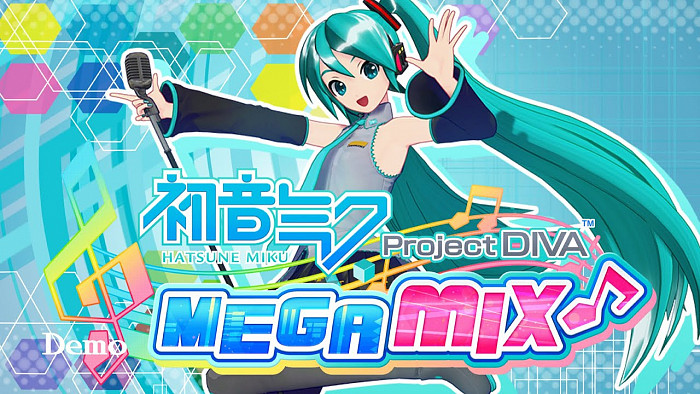 Обложка для игры Hatsune Miku: Project DIVA Mega Mix