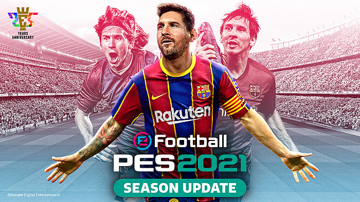 Обложка для игры eFootball Pro Evolution Soccer 2021 Season Update