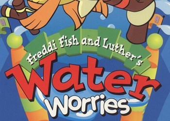 Обложка для игры Freddi Fish and Luther's Water Worries
