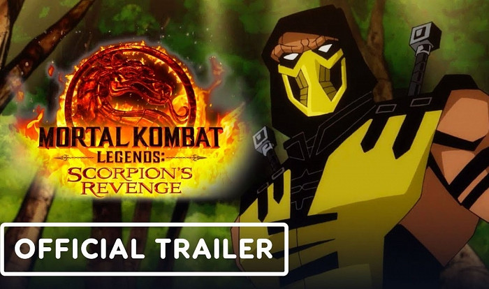 Дебютный трейлер Mortal Kombat Legends: Scorpion's Revenge