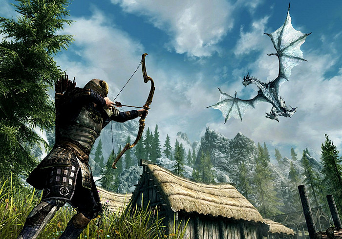 Skyrim вышел на PlayStation VR и Nintendo Switch