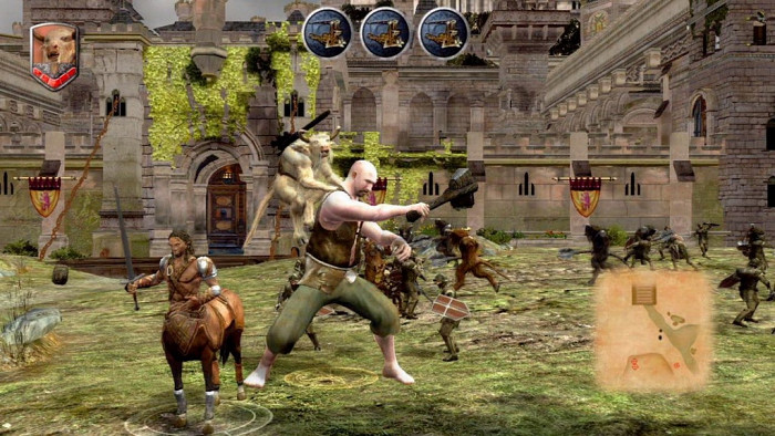 Скриншот из игры Chronicles of Narnia: Prince Caspian, The
