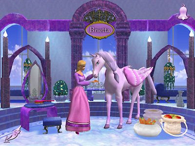Скриншот из игры Barbie and the Magic of Pegasus