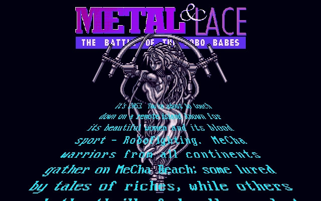 Обложка для игры Metal & Lace: The Battle of the Robo Babes