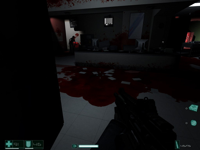 Скриншот из игры F.E.A.R. Extraction Point