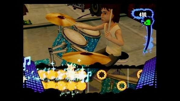 Скриншот из игры Naked Brothers Band: The Video Game, The