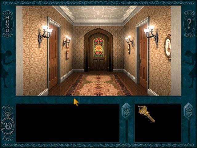 Скриншот из игры Nancy Drew: Message in a Haunted Mansion