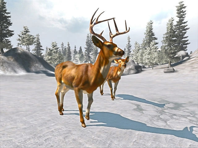 Скриншот из игры Cabela's Big Game Hunter: Trophy Bucks