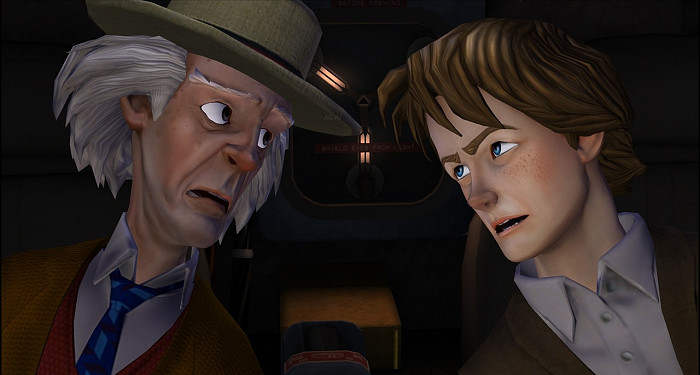 Скриншот из игры Back to the Future: The Game Episode 2. Get Tannen
