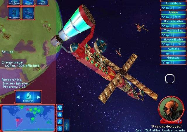 Скриншот из игры M.A.D Mutually Assured Destruction