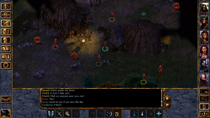 Скриншот из игры Baldur's Gate: Enhanced Edition