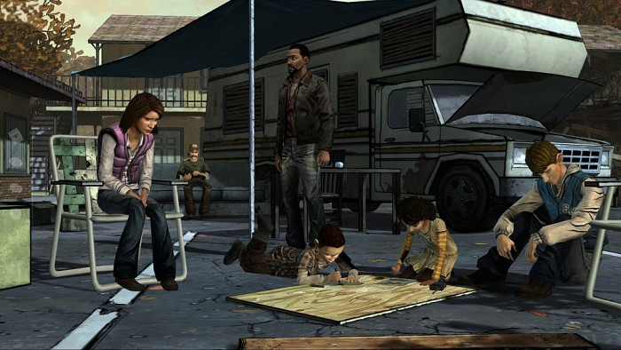 Скриншот из игры Walking Dead: Episode 2 - Starved for Help, The