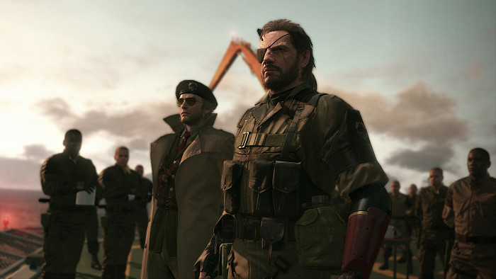 Скриншот из игры Metal Gear Solid 5: The Phantom Pain