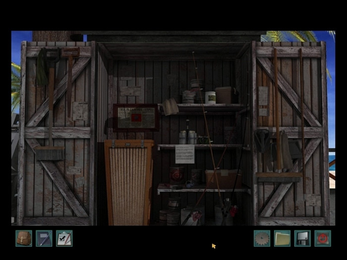 Скриншот из игры Nancy Drew: Ransom of the Seven Ships
