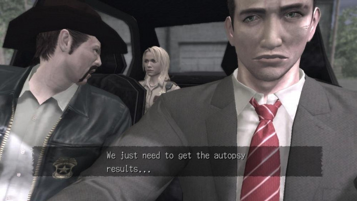 Скриншот из игры Deadly Premonition: The Director's Cut
