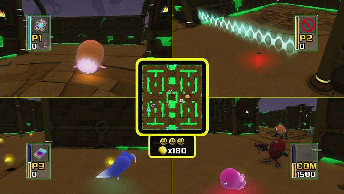 Скриншот из игры Pac-Man and the Ghostly Adventures