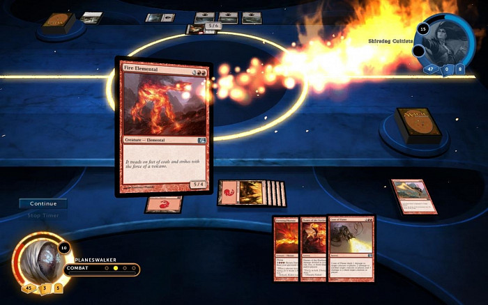 Скриншот из игры Magic: The Gathering - Duels of the Planeswalkers 2014