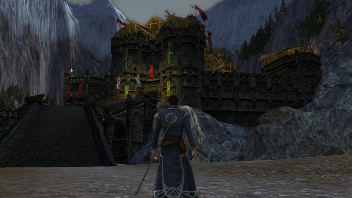 Скриншот из игры Lord of the Rings Online: Helm's Deep, The