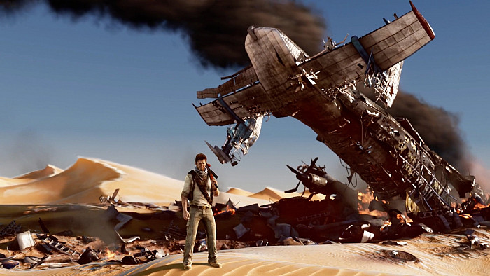 Скриншот из игры Uncharted: The Nathan Drake Collection