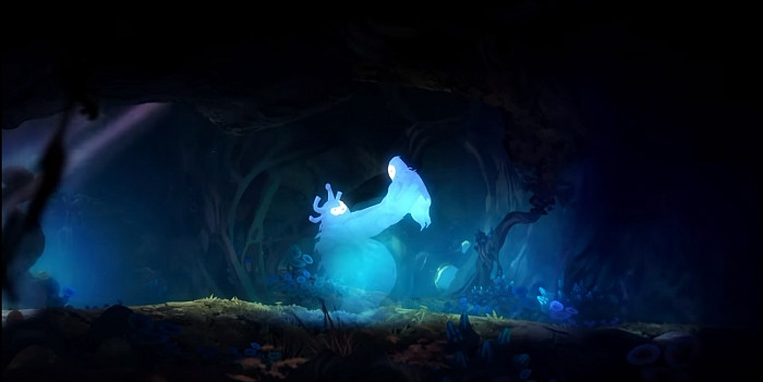 Скриншот из игры Ori and The Blind Forest: Definitive Edition