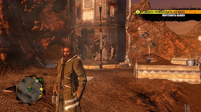 Скриншот из игры Red Faction: Guerrilla Re-Mars-tered