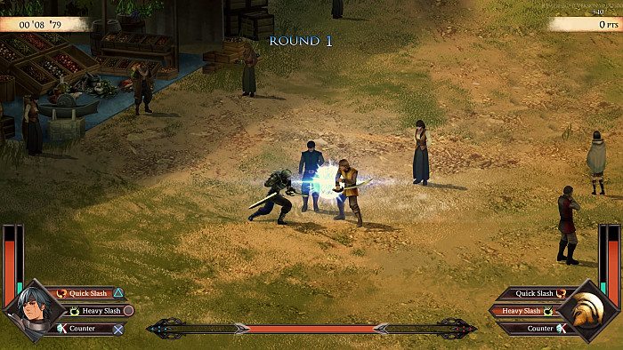 Скриншот из игры Legrand Legacy: Tale of the Fatebounds