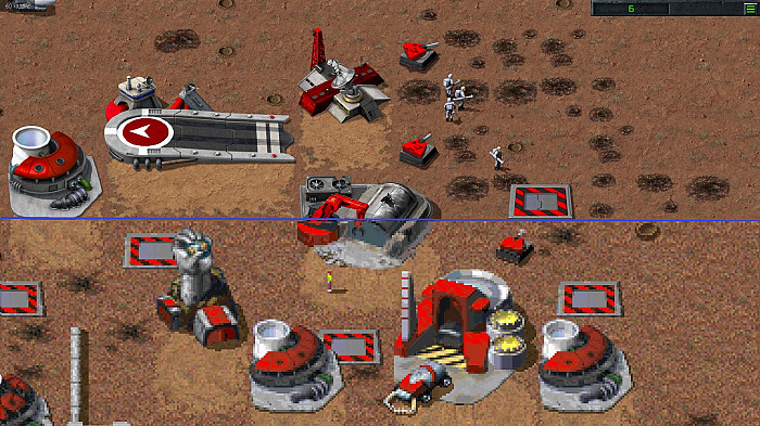Скриншот из игры Command & Conquer Remastered Collection