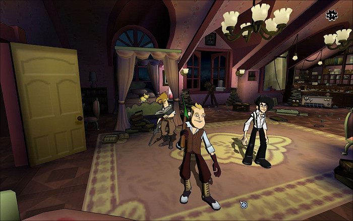 Скриншот из игры Penny Arcade Adventures: On the Rain-Slick Precipice of Darkness, Episode One