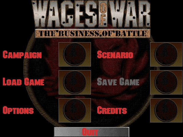 Скриншот из игры Wages of War: The Business of Battle