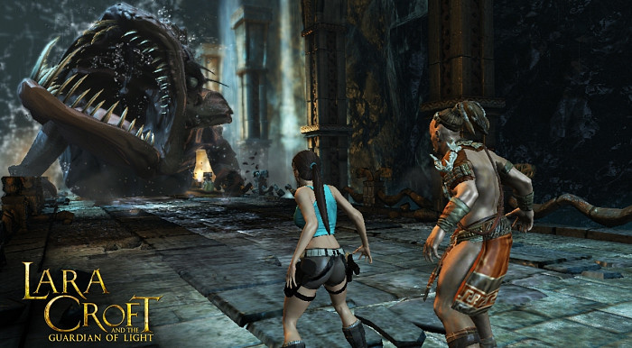Скриншот из игры Lara Croft And The Guardian of Light