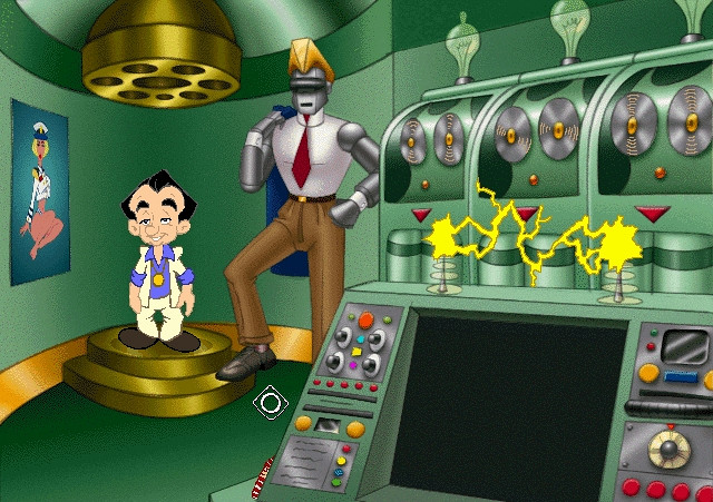 Скриншот из игры Leisure Suit Larry 7: Love for Sail!