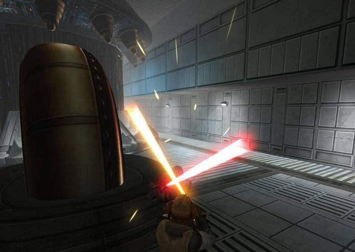 Скриншот из игры Star Wars: Jedi Knight - Jedi Academy