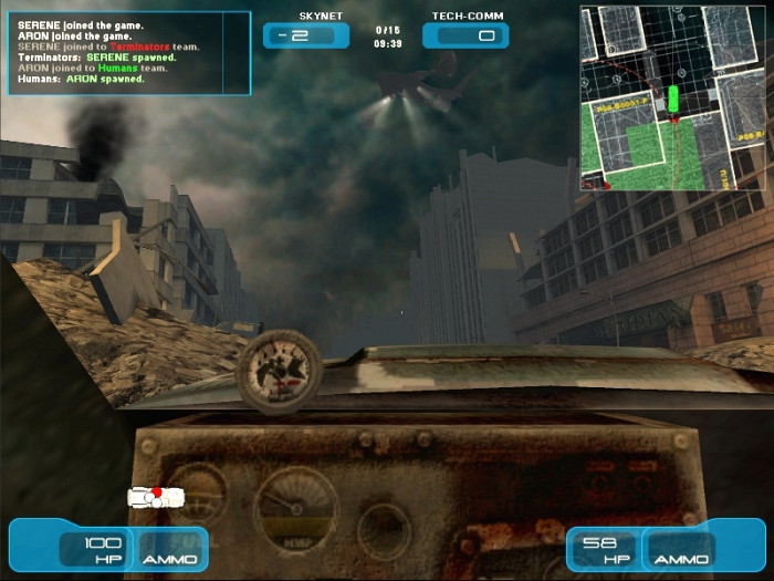 Скриншот из игры Terminator 3: War of the Machines