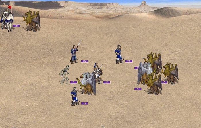 Скриншот из игры Heroes Chronicles: Conquest of the Underworld and Warlords of the Wasteland