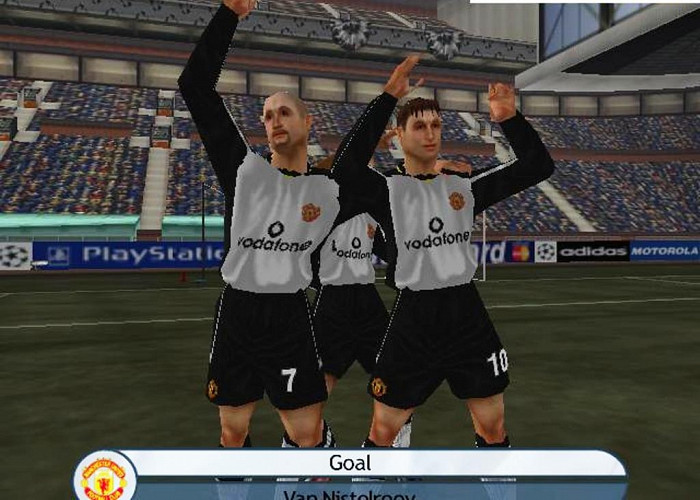 Обложка игры UEFA Champions League:Season 2001/2002