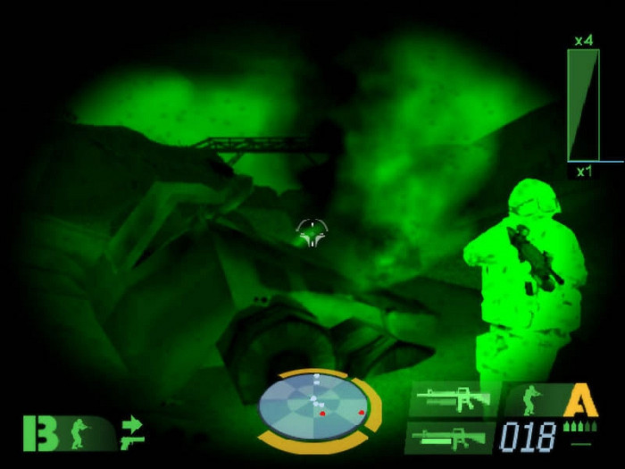 Скриншот из игры Tom Clancy's Ghost Recon: Desert Siege