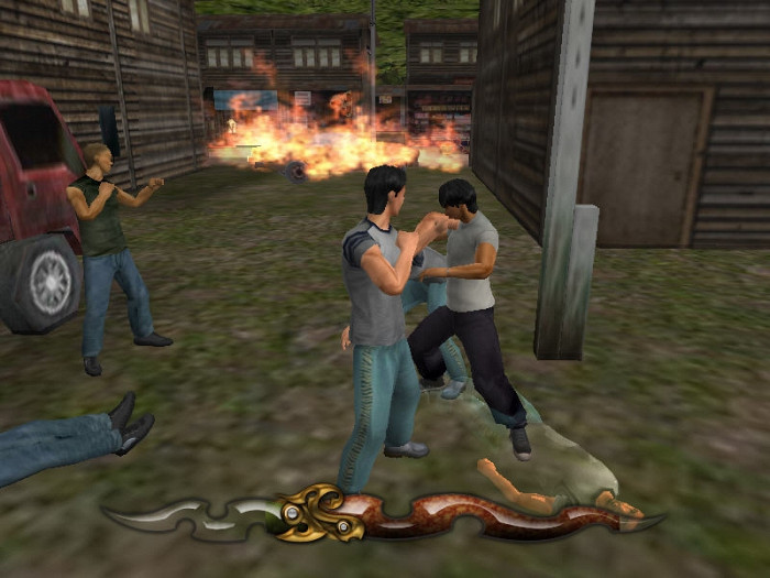 Скриншот из игры Tony Jaa's Tom-Yum-Goong: The Game