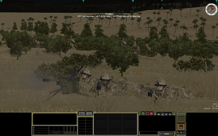 Скриншот из игры Combat Mission: Shock Force British Forces
