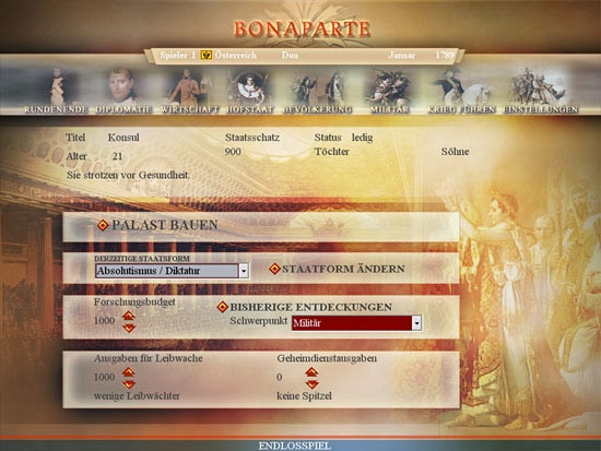 Скриншот из игры Bonaparte: The Battle for Power and Freedom