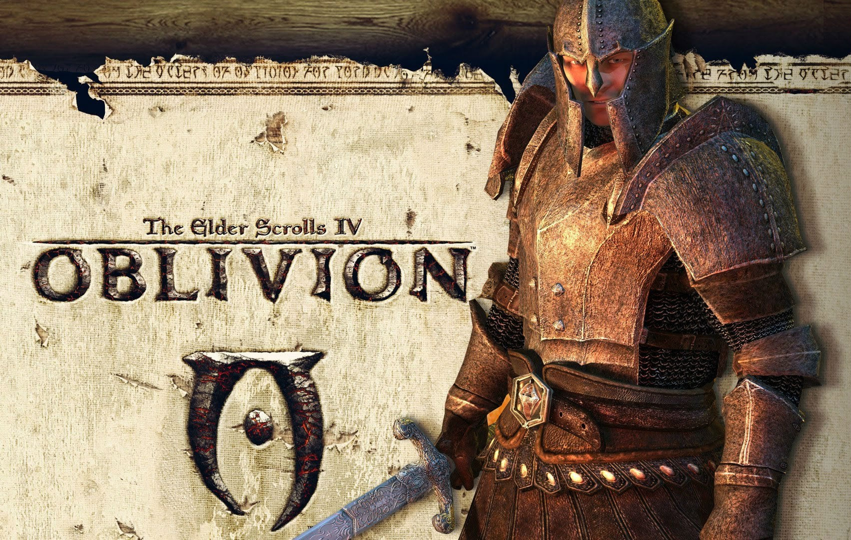 Обложка игры The Elder Scrolls 4: Oblivion
