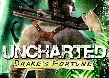 Обложка игры Uncharted: Drake's Fortune