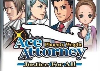 Обложка игры Phoenix Wright: Ace Attorney Justice for All