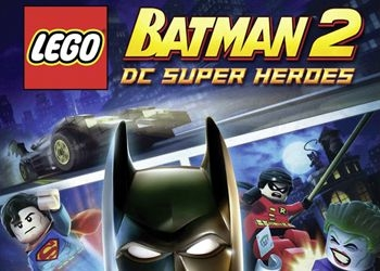 Обложка игры LEGO Batman 2: DC Super Heroes